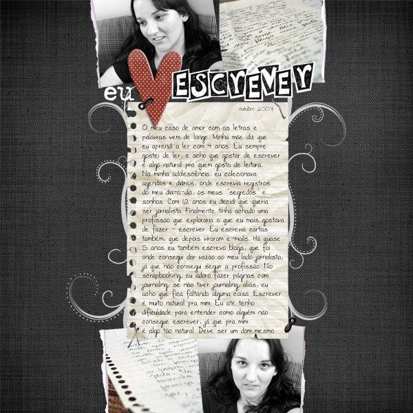 Eu amo escrever - Ana Calabresi
