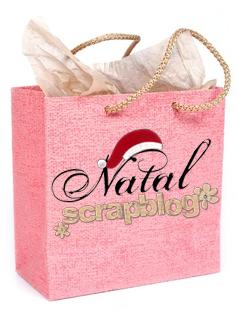 Sacola Natal Scrapblog