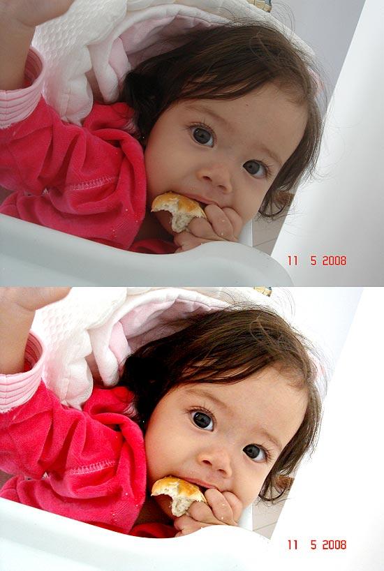 Aninha Antes e Depois